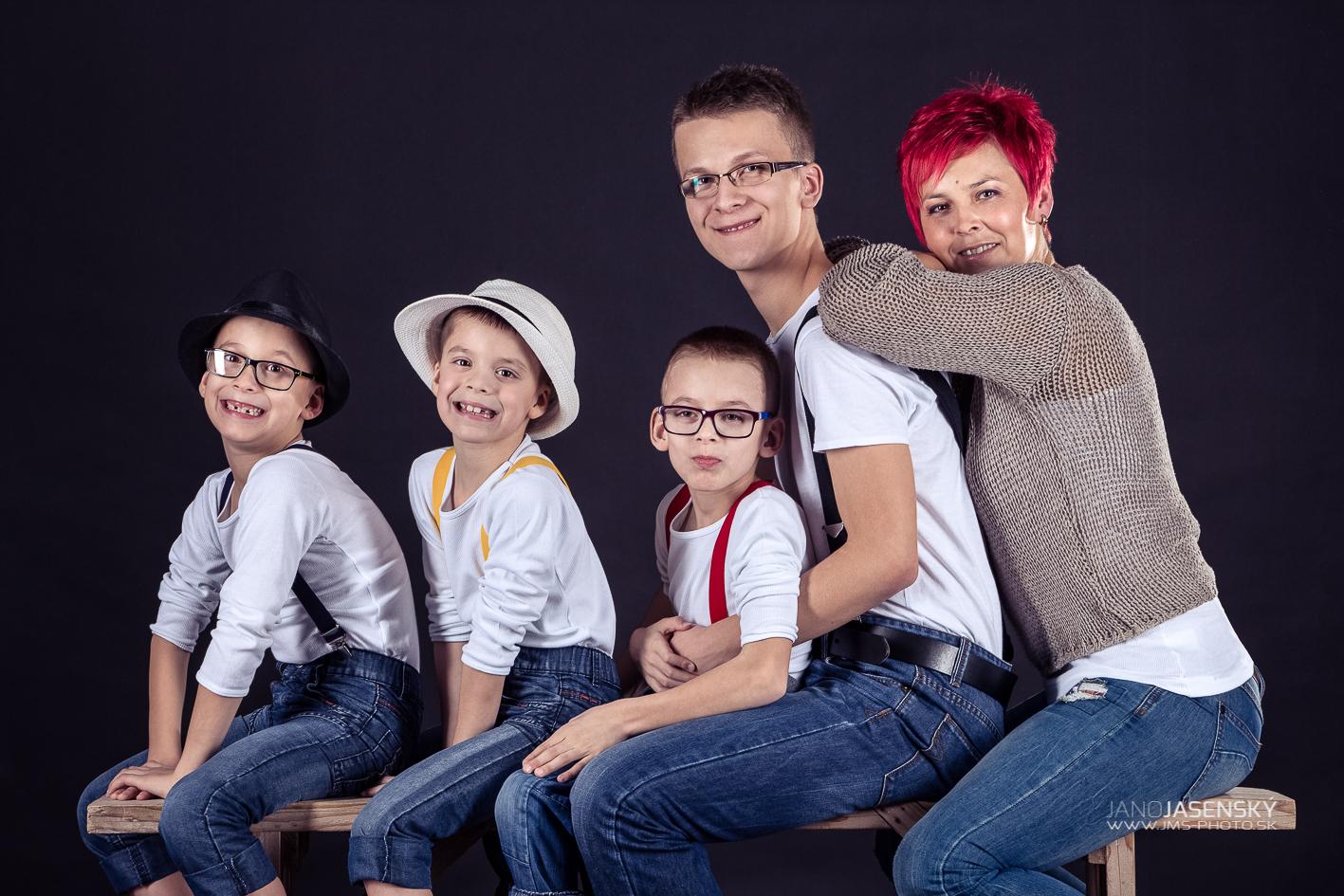 Filipko s rodinou